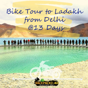 Bike tour to Ladakh from Delhi