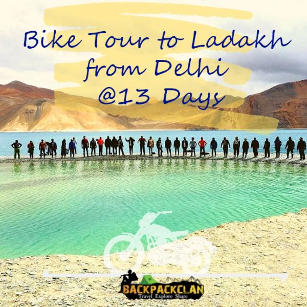 Bike tour to Ladakh from Delhi