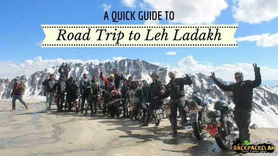 guide for leh ladakh road trip