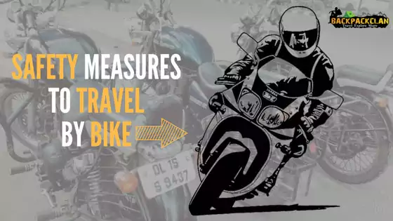 Safety precautions to travel by bike