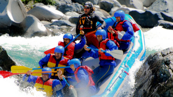 Indus River Rafting