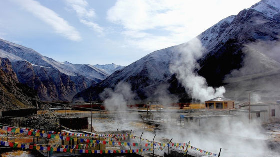 Relax and Experience the calmness at Chumthang Springs