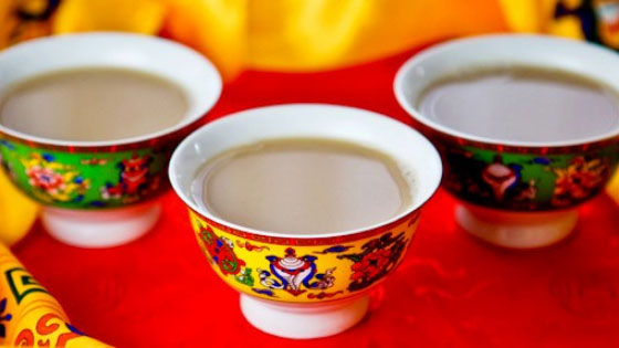 local Butter Tea and Chang