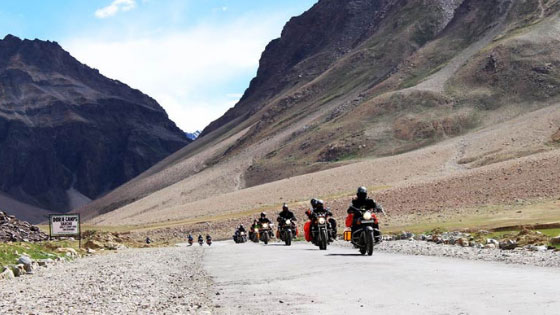 Best time for a road trip to Leh Ladakh