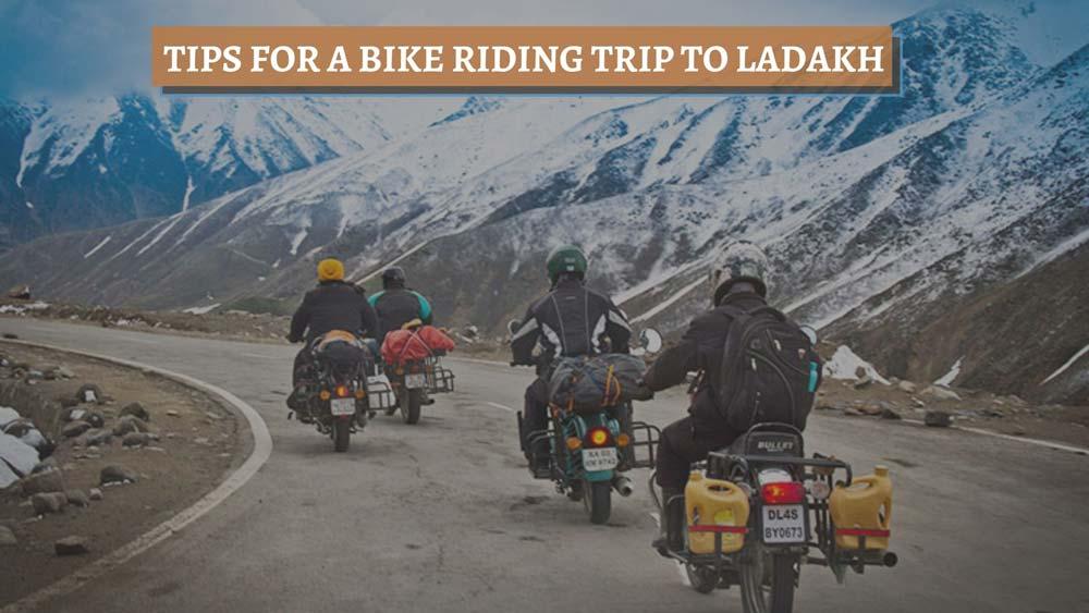 essentials to carry for bike trip to ladakh