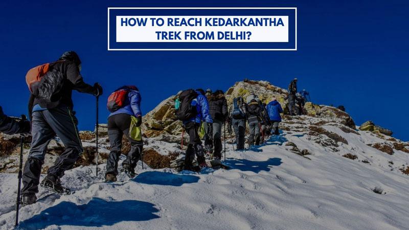 Reach Kedarkantha Trek from Delhi
